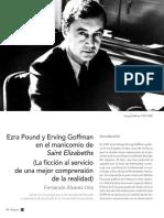 F.Álvarez-Uría - Pound y Goffman en el manicomio