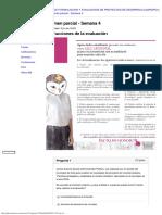 Evaluación Examen Parcial formulacion y evaluacion de proyectos de desarrollo