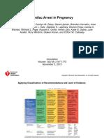 Cardiac Arrest in Pregnancy Aha 2015 Power Point