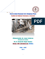 Alimentacion Vacas Lecheras 2014