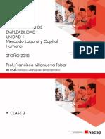 - Clase N°2 , 3, 4 COMPETENCIAS DE EMPLEABILIDAD VF