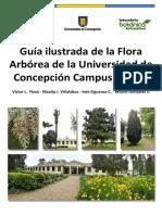 Guia Ilustrada de La Flora Arborea de La Udec Chillan