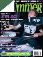 Revista Magazzine Drums