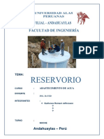 Reservorio TRABAJO