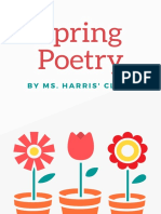 2nd grade spring poetry books