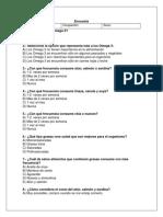 Encuesta y Análisis de Resultados