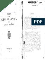 RAE - Esbozo de Una Nueva Gramática de La Lengua Española (§ 2.2.2.)