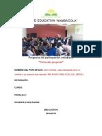 Portafólio Del Estudiante Ppe