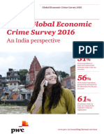 Pwc Global Economic Crime Survey 2016 India Edition