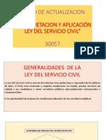 Ley Servir 30057 Mrazo 2018