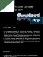 DISILICATO DE LITIO