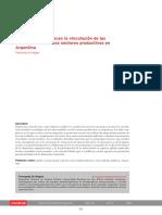 Factores Que Favorecen La Vinculación de Las Universidades Con Los Sectores Productivos en Argentina