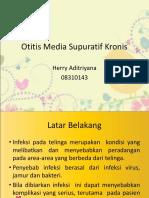 248270490 228437340 Otitis Media Supuratif Kronis Ppt