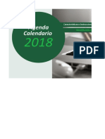 Agenda Calendario 2018
