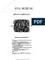 Revista Musical Hispano-Americana. 31-3-1917, No. 3