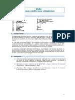 Silabo Desarrollo Personal y Creatividad_ 2014-II