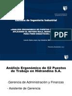 Caso Practico Aplicando El Metodo Rula PDF