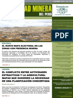 Boletinamp185-Conflicto Entre El Extractivismo y La Agricultura