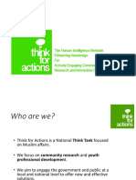 think for actions presentation