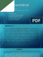 DILEMAS ÉTICOS - EXPOSICIÓN
