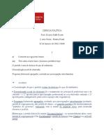 Enunciado-correção; Ciencia Politica - Tan - 22-1-2013