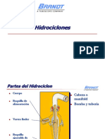 Clasificacion- Hidrociclones Brand