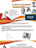 Filósofos de la Corriente de Matemática.pptx