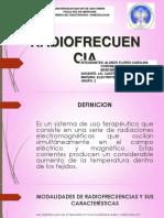 Radiofrecuencia Para Exponer