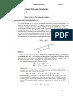 Geometria Analitica Udh 2018-1