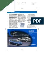 2004 Mazda3 Quick Tips