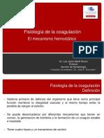 Fisiología de La Coagulación Modificada Junio 2013