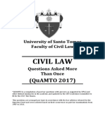 Quamto Civil Law 2017
