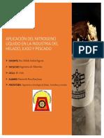 Aplicación Del Nitrogeno Líquido en La Industria Del Helado 1