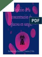 Medición de La Concentración de Glucosa en Sangre.