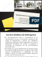 Gas H2S y Gas Combustible CH4