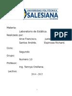 Informe Lab Estatica 1 g10