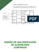 albañileria estructural diseño