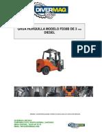 Catalogo Grua 3ton Diesel