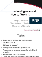 How I teach BI watson.ppt