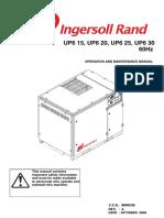 Ingersoll Rand UP6!25!125 Operators Manual