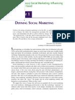 Kotler Lee Social Marketing 2011 Defining SocialMarketing Ch1 (1)