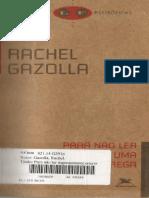 Rachel Gazolla_Para Nao Ler Ingenuamente Um Tragedia Grega [livro].pdf