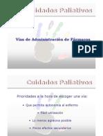 Vias de Admin is Trac Ion de Farmacos 2009