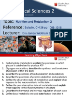 10 CH26 Nutrition and Metabolism 2 2015