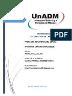 Informe Final -Paola Del Rocio