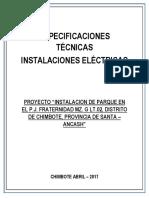 4.4. E.T. Instalaciones Electricas