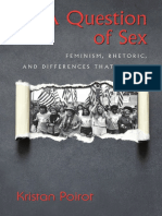 Kristan Poirot a Question of Sex Feminism, Rhetoric, And Differences That Matter