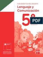 Lenguaje y Comunicación 5º básico - Guía didáctica del docente tomo 1.pdf