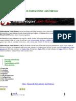 Manual de Malwarebytes
