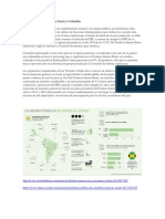 Deuda Pública de América Frente a Colombia